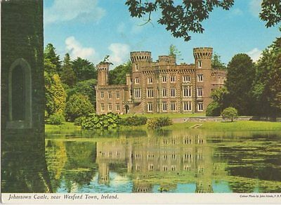Johnstown Castle Wexford Town Ireland Old Postcard 0945