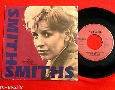 "The Smiths -Some Girls Are Bigger...- Rare German 7"" with Promo only sleeve"