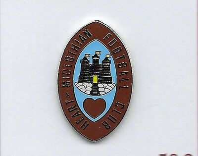 Heart of Midlothian - Old Edinburgh Style Crest - Pin Badge