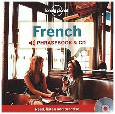 Lonely Planet French Phrasebook, w. audio-CD