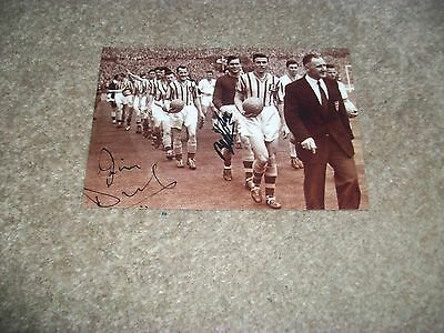 "ASTON VILLA TEAM coming on the pitch FA Cup Final 1957 6""x4"" REPRINT POST FREE"