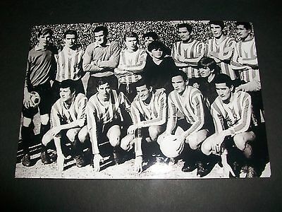 "ESTUDIANTES     TEAM   1968  ?      6""x4""  REPRINT  POST FREE"