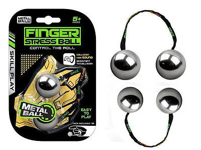 Fidget ADHD Toys Begleri Thumb Chucks Knuckles Finger Yoyo EDC Stress Toy UK