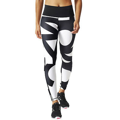 adidas Performance Womens High Rise Ultimate Fit Running Gym Training Tight
