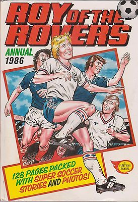 ROY OF THE ROVERS ANNUAL 1986 [Vintage H/B]