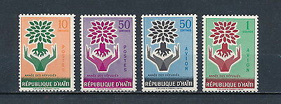 Haiti #452-53, C151 - 52 MNH, World Refugee Year 1960