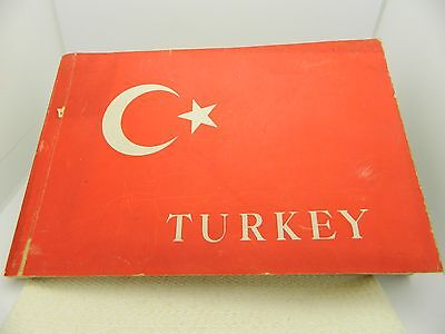 April 5 1946 Turkey Presentation Souvenir Book Navy Post WWII Era USS Missouri