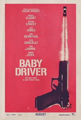 Baby Driver - original DS movie poster 27x40 Advance