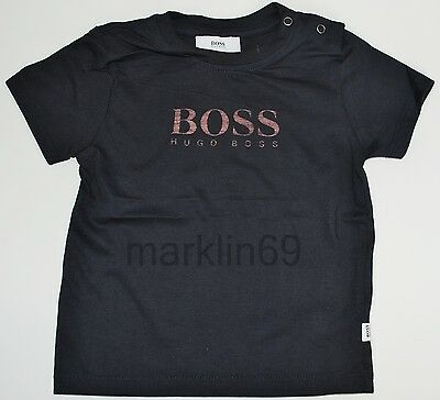 Baby Boys Genuine Hugo Boss Black T-Shirt - 6mths, 9mths, 18mths, 2yrs, 3yrs
