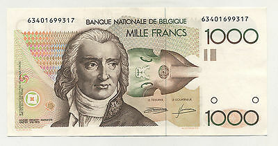 Belgium 1000 Francs ND 1980-96 Pick 144.a Circulated Banknote Ref 317