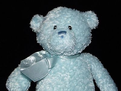 Gund Teddy Bear Soft Toy Blue Comforter Doudou No. 46412