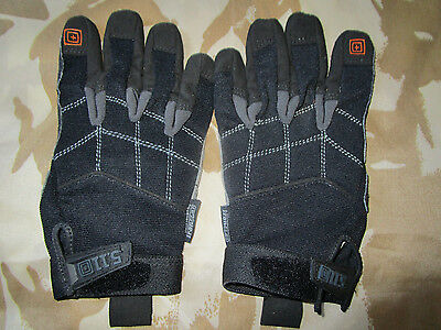 5.11 Tactical army GLOVES Station Grip Security SIA POLICE padded NI FIBUA vgc