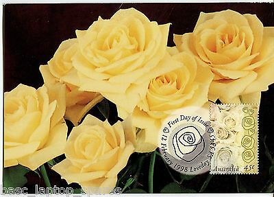 1998 Maxi Cards - Valentine's Day 'Yellow Roses'