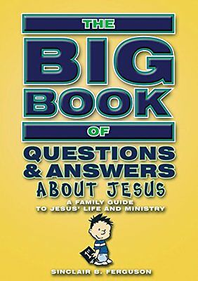 Big Book Of Questions & Answers About Jesus New JP Oversized Book Sinclair B. Fe