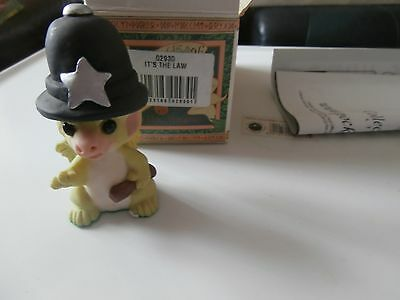 Pocket Dragons  Collectible World  It,s  The Law  02930   1989 Real Musgrave