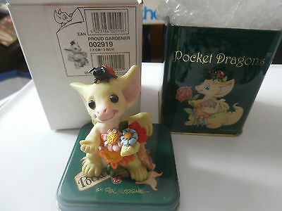 Pocket Dragons  Collectible World  Proud Gardener In Tin 002919