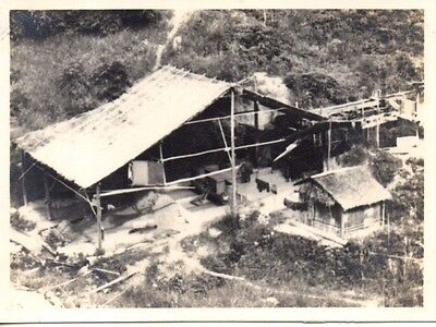 Unique photo's, Fraser Hill Tin Mine, Pahang, Malaya. 1937. 3 Photo's.