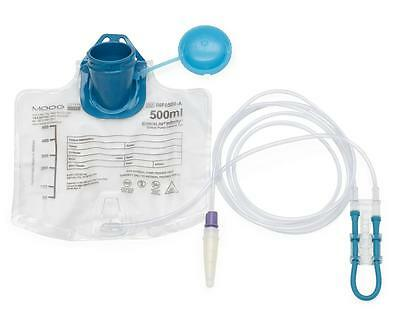 EnteraLite Infinity 500ml Feeding Bag with Attached Pump Set 20pk
