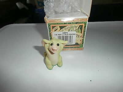 Pocket Dragons  Collectible World   I,m Not Li-S-S-Tening  02879     Boxed