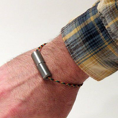 Big Larry's Magnetic Simple Steel Bracelet Begleri by Zeekio