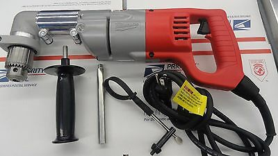 """Milwaukee 1107-1 Electric Corded Heavy Duty 1/2"""" Right Angle Drill"""