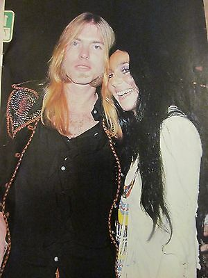 Cher, Full Page Vintage Pinup, Gregg Allman