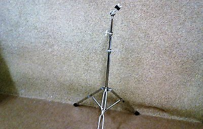 Clearance: Brand new double braced straight cymbal stand.