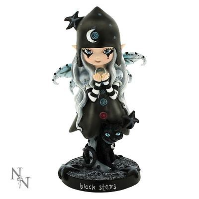 Nemesis Now - Black Stars Gothic Fairy Figurine
