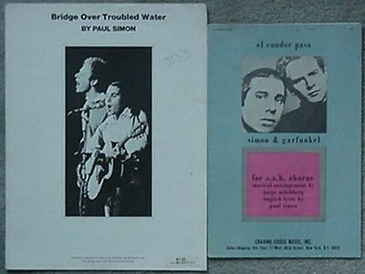 Simon & Garfunkel Sht Music(2)1970 - Bridge Over Troubled Water & El Condor Pasa