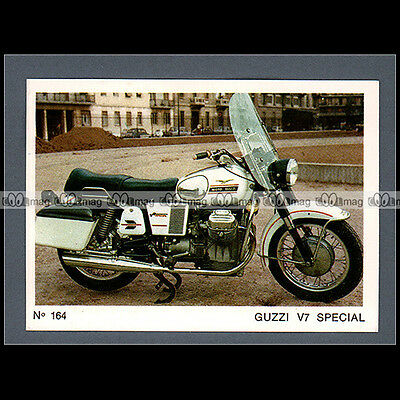 #MTP164 ★ GUZZI 750 V7 SPECIAL ★ Carte Moto Motorcycle card