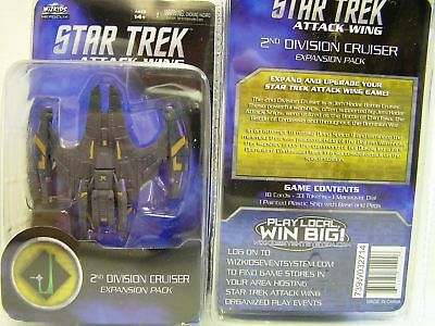 Star Trek Attack Wing 2nd Division Cruiser  Expansion / Erweiterung