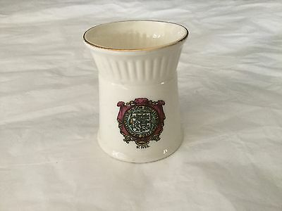 WH Goss crested china souvenir St. Ives Tresco Brazier