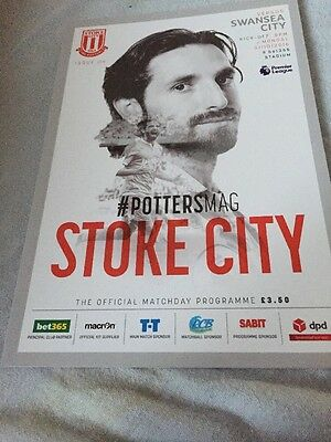 Stoke city V Swansea City 31st October 2016 English Premier League