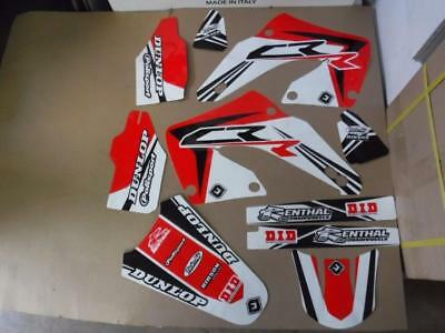Flu  Pts3 Team Graphics Honda Cr125 Cr125R Cr250 Cr250R 2000  2001