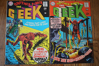 BROTHER POWER THE GEEK 1 & 2 Hippy-Dippy-doo