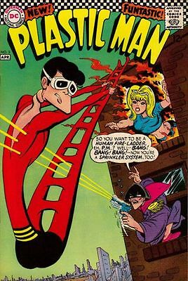 PLASTIC MAN #3 VG, Joe Orlando C, Win Mortimer A, DC Comics 1967