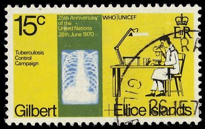 GILBERT & ELLICE 164 (SG164) - United Nations 25th Anniversary (pa8722)