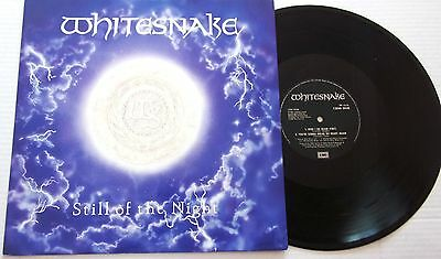 "WHITESNAKE  STILL OF THE NIGHT c/w HERE O GO AGAIN + 1  3TRACK MAXI 12"" P/S"