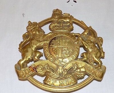 1953 Cw 17 Brass Kings Arms Trivet Va Virginia Metalcrafters  6 X 6  Heavy Brass