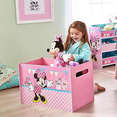 Minnie Mouse Toy Box Childrens Storage Mdf Furniture Bedroom Free P+P 474Inn