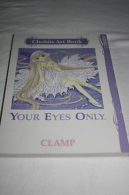 Chobits Clamp Your Eyes Only Chi Illustration Art Anime Book Manga Tokyopop New
