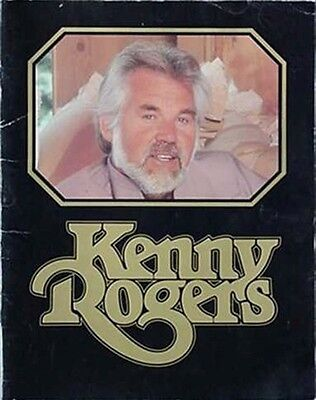 1984 Kenny Rogers Concert Book