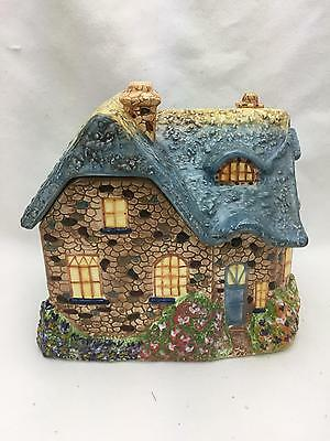 GARDEN of FAITH COTTAGE Everett's 1st Birthday COOKIE JAR by THOMAS KINKADE