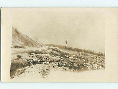 old rppc WWI MILITARY BATTLEFRONT AT DUNKIRK Dunkerque - Duinkerke France HM2084