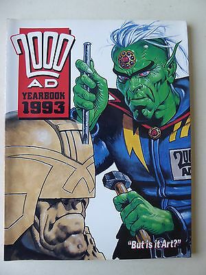 2000 AD Yearbook 1993 Fleetway Publishing (Judge Dredd)
