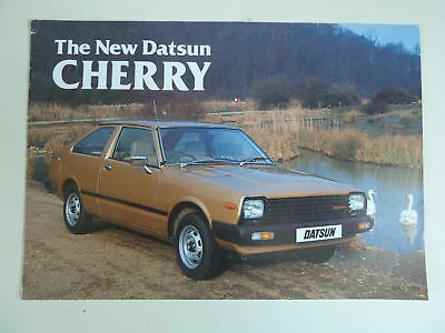 The New Datsun Cherry Brochure May 1981