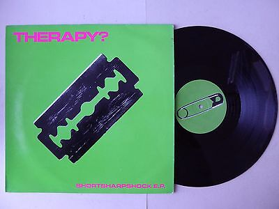 "Therapy? Shortsharpshock E.P 4 Track Vinyl 12"" A&M AMY 208 (Screamager)"