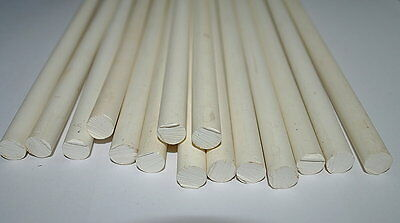 old bakelite,white/ivory color galalith rods, 660grams