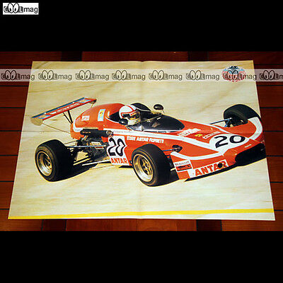 JACQUES COULON dans sa MARTINI-ANTAR F3 en 1972 - Poster #PM587