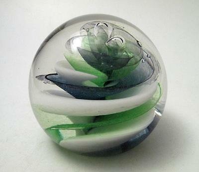 Stunning Caithness Scotland Dizzy Art Glass Paperweight Signed & Numbered